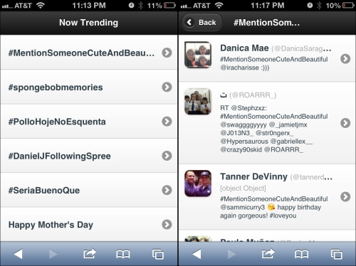 Patching into JSON APIs (Twitter) - Creating Mobile Apps with jQuery