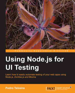 Using Node js for UI Testing