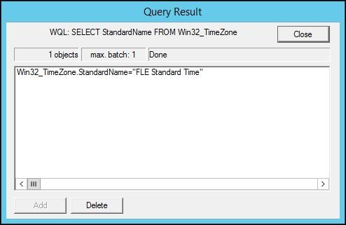 Querying WMI - Zabbix Network Monitoring - Second Edition