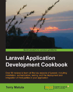 Validating a file upload - Laravel Application Development Cookbook