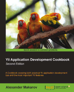 Yii Application Development Cookbook - Second Edition