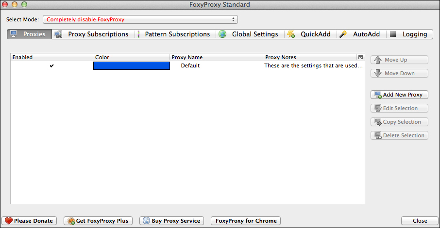 FoxyProxy – Firefox plugin - Web Penetration Testing with
