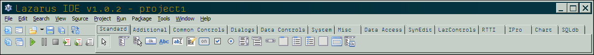 The Source Editor window - Getting Started with Lazarus IDE