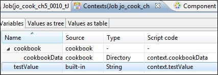 Setting the context and globalMap variables using tJava