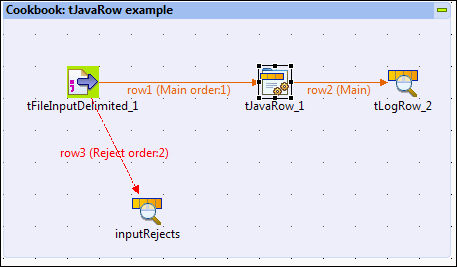 Adding complex logic into a flow using tJavaRow - Talend Open Studio