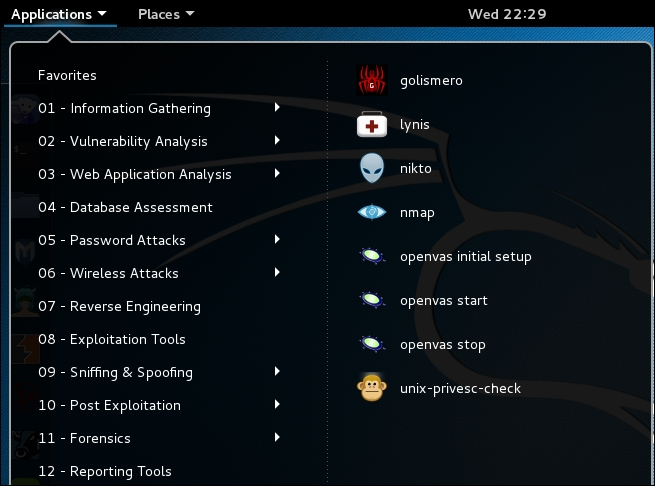 Setting up and configuring OpenVAS - Kali Linux 2: Windows
