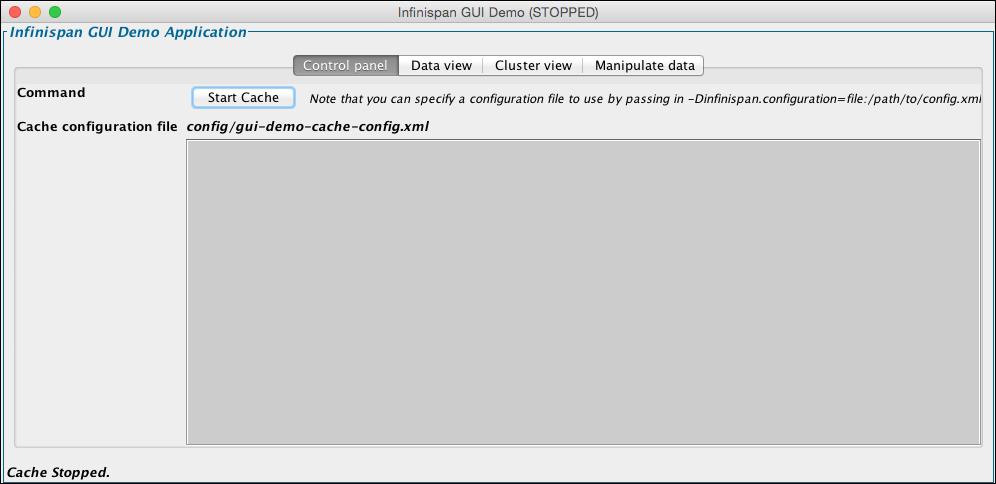Running the sample application - Infinispan Data Grid
