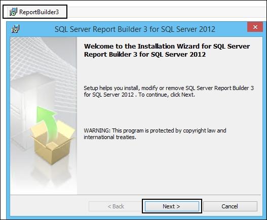 Installing Report Builder - Microsoft System Center Reporting Cookbook