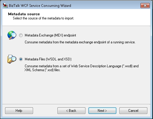 Manually importing WSDL files - (MCTS) Microsoft BizTalk
