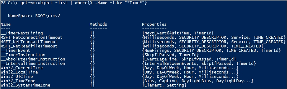 Searching for WMI classes - Mastering Windows PowerShell