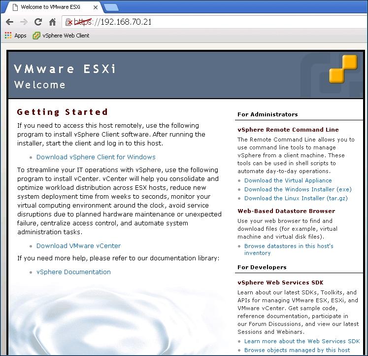 Using the vSphere Client - Learning VMware vSphere
