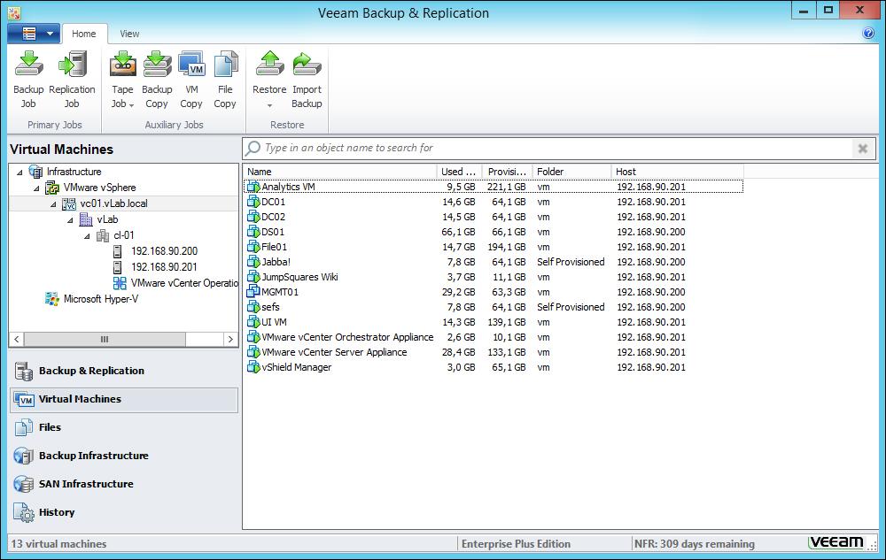 Installing Veeam Backup & Replication v7 - Learning Veeam Backup