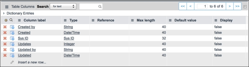 Exploring the database - Mastering ServiceNow