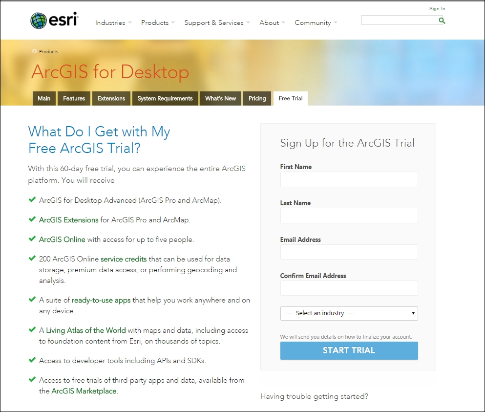 Installing ArcGIS for Desktop - Learning ArcGIS for Desktop