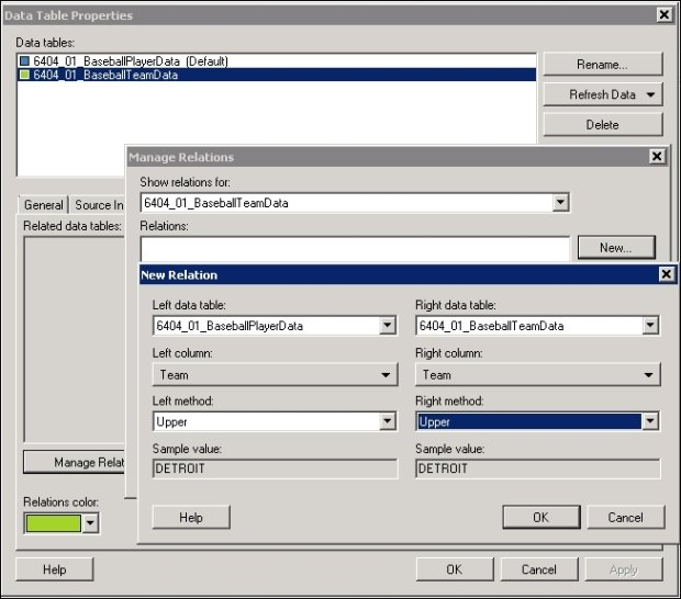 How to link data in Spotfire - TIBCO Spotfire - A