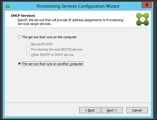 Installing and configuring Provisioning Services 7 - Citrix