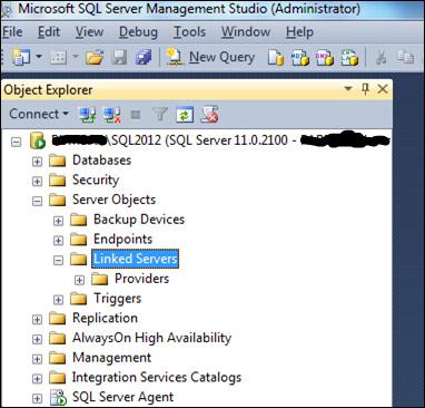 Configuring the SQL Linked Server to Hive - Microsoft SQL Server