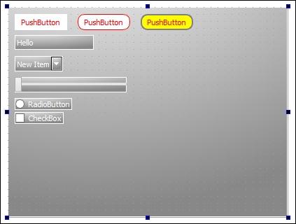 Basic style sheet customization - Qt5 C++ GUI Programming