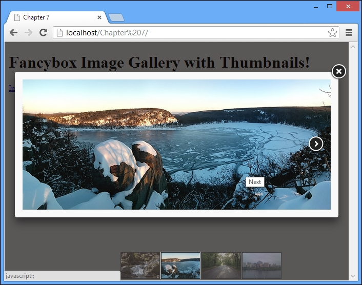 Adding thumbnails to a gallery (Simple) - Instant Fancybox