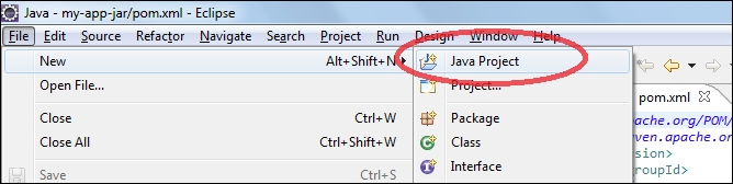 The Java OpenCV project in Eclipse - OpenCV 3 0 Computer