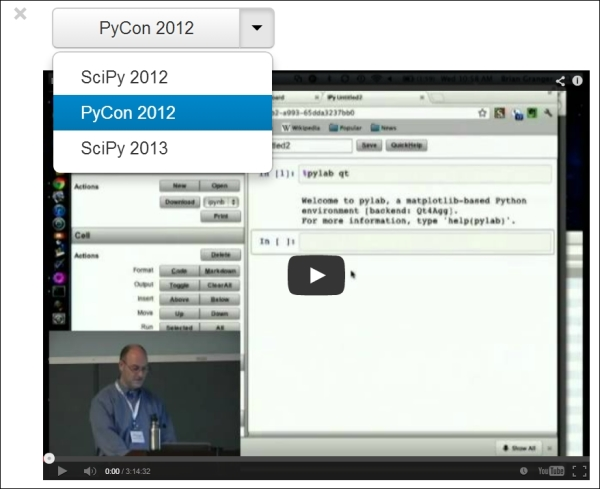 Introducing the IPython notebook - IPython Interactive Computing and