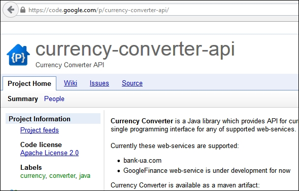 The Google Currency Converter Api