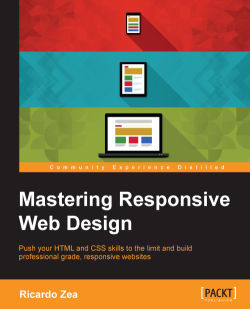 A Full Html5 Example Page With Aria Roles And Meta Tags Mastering Responsive Web Design