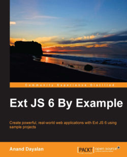 The pivot grid - Ext JS 6 By Example