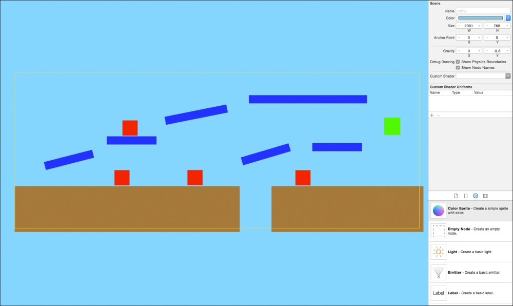 Designing Levels With The Spritekit Scene Editor Game Development