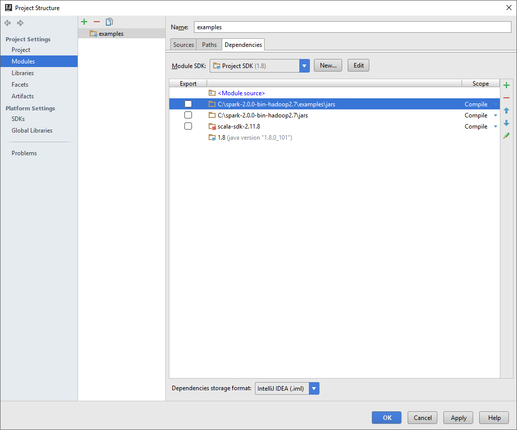 Configuring IntelliJ to work with Spark and run Spark ML