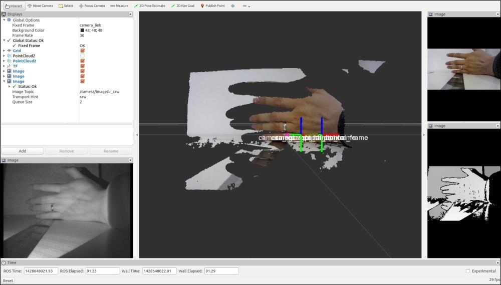 Interfacing Intel Real Sense camera with ROS - Mastering ROS