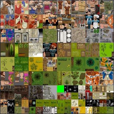 Texture atlases - Unity 2D Game Development Cookbook