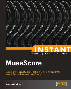 Quick start – creating your first score - Instant MuseScore