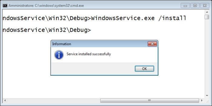 Creating a Windows service - Delphi Cookbook
