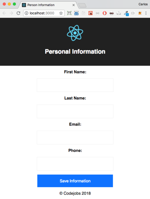 Updating our title and meta tags with React Helmet - React