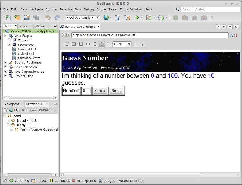 NetBeans tips for effective development - Java EE 7 Development with