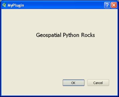 Creating a QGIS plugin - QGIS Python Programming Cookbook