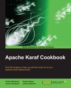 Using the JMS connection factory commands - Apache Karaf Cookbook