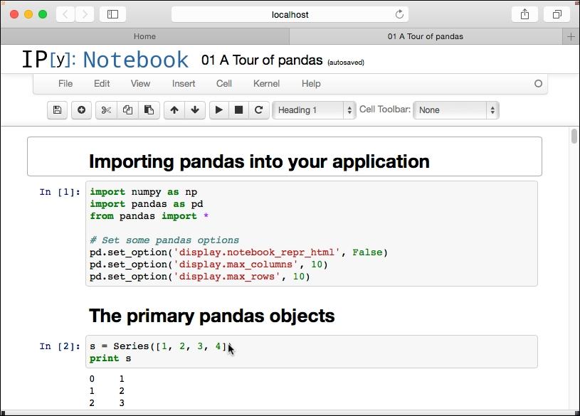Installing and running IPython Notebooks - Learning pandas
