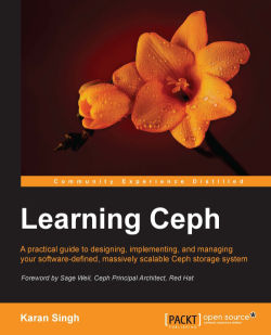 Ceph cluster deployment using the ceph-deploy tool - Learning Ceph