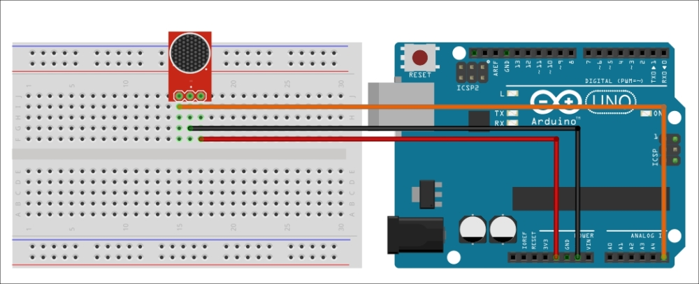 Testing the microphone - Arduino for Secret Agents