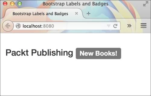Bootstrap labels and badges - Bootstrap for Rails