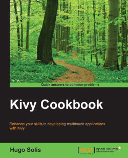 Using GridLayout - Kivy Cookbook