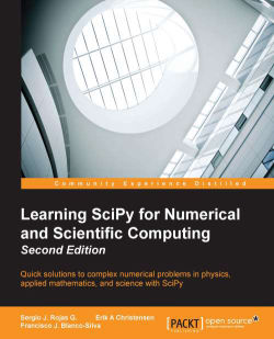 Learning SciPy for Numerical and Scientific Computing - Second Edition