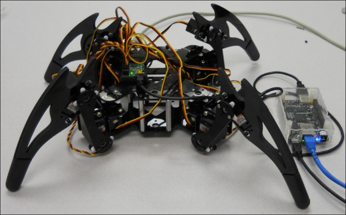Connecting the servo controller to the BeagleBone Black