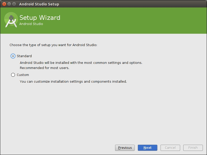 Time for action – installing Android SDK and NDK on Ubuntu - Android