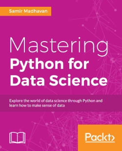 A confidence interval - Mastering Python for Data Science