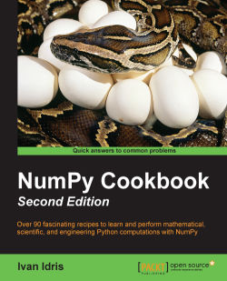 Creating a masked array - NumPy Cookbook - Second Edition
