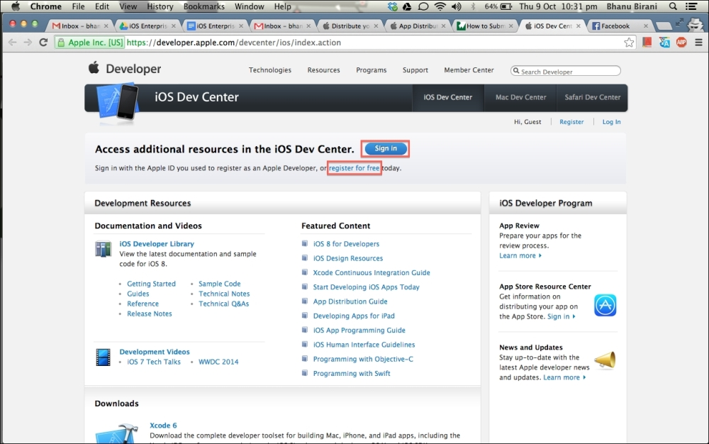Getting started - Learning iOS 8 for Enterprise