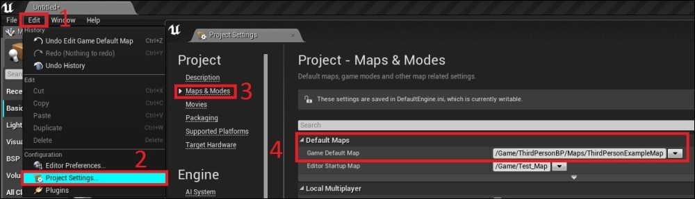 Packaging the project - Unreal Engine 4 Game Development Essentials